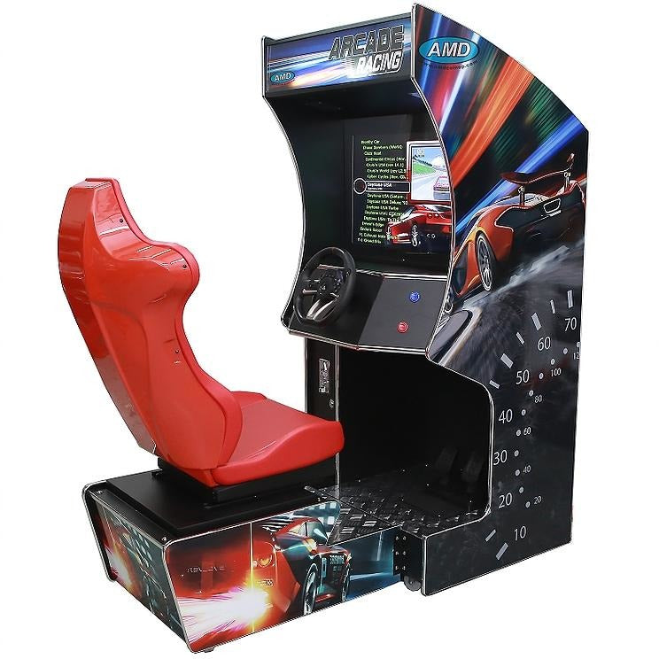 Multigame Arcade Racing Machine - Reality Games Australia