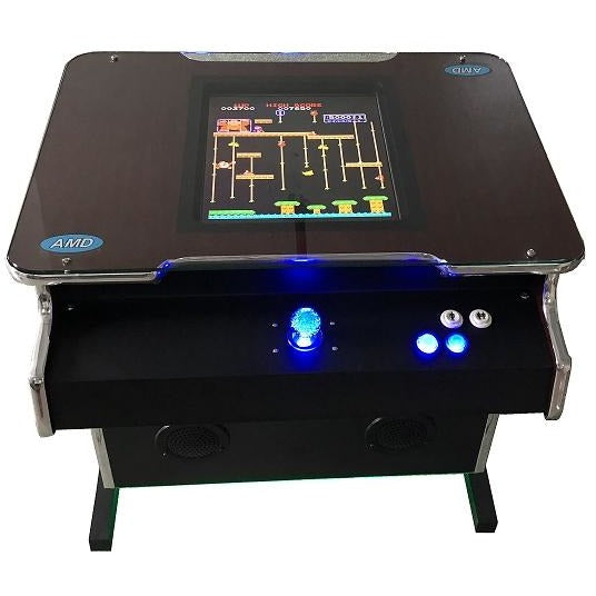 Retro Multi Game Sit Down Cocktail Arcade Machine - Reality Games Australia