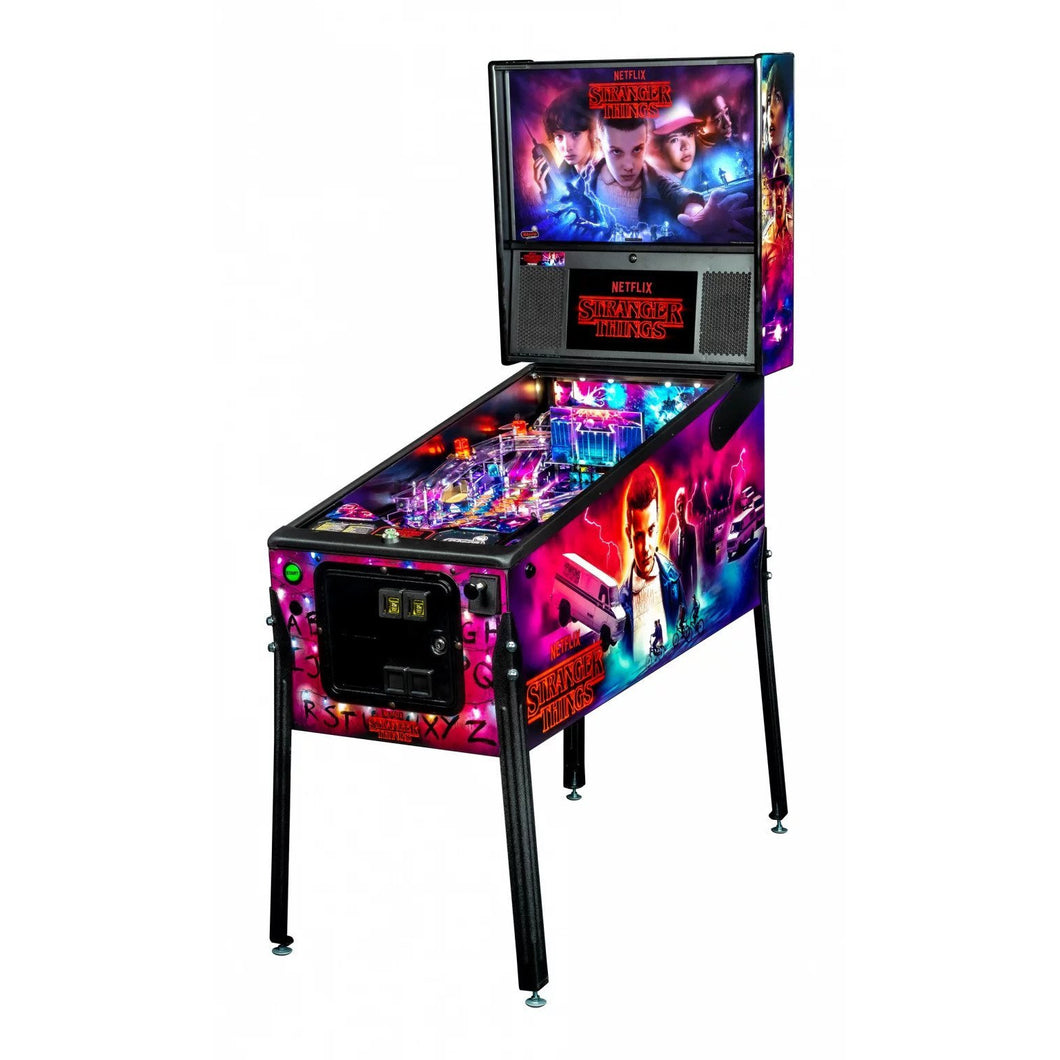 Stranger Things Pro Pinball Machine - Reality Games Australia