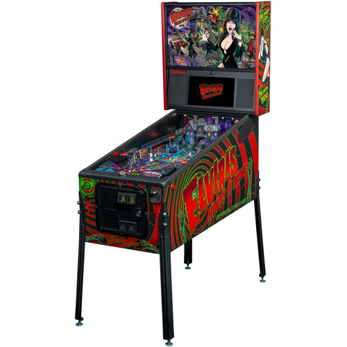 Elivra's House of Horrors Premium Pinball Machine - Reality Games Australia