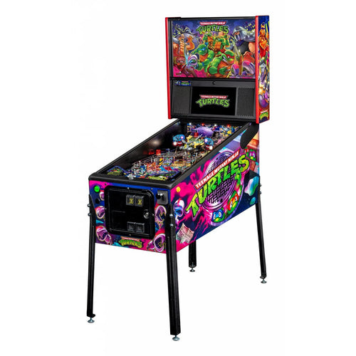 Teenage Mutant Ninja Turtles Premium Pinball Machine - Reality Games Australia