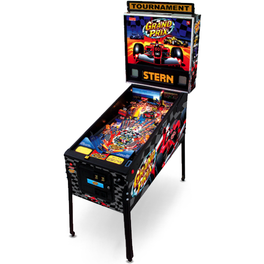 Grand Prix Pinball Machine | Reality Games Australia