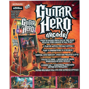 Guitar Hero Arcade Machine - Reality Games Australia