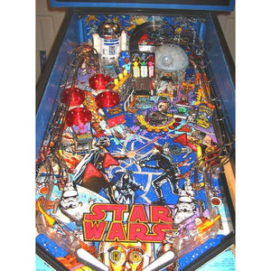 Data East Star Wars Pinball Machine - Reality Games Australia