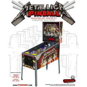 Metallica Limited Edition Pinball Machine - Reality Games Australia