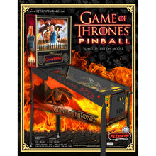 Load image into Gallery viewer, Game of Thrones Limited Edition Pinball Machine - Reality Games Australia