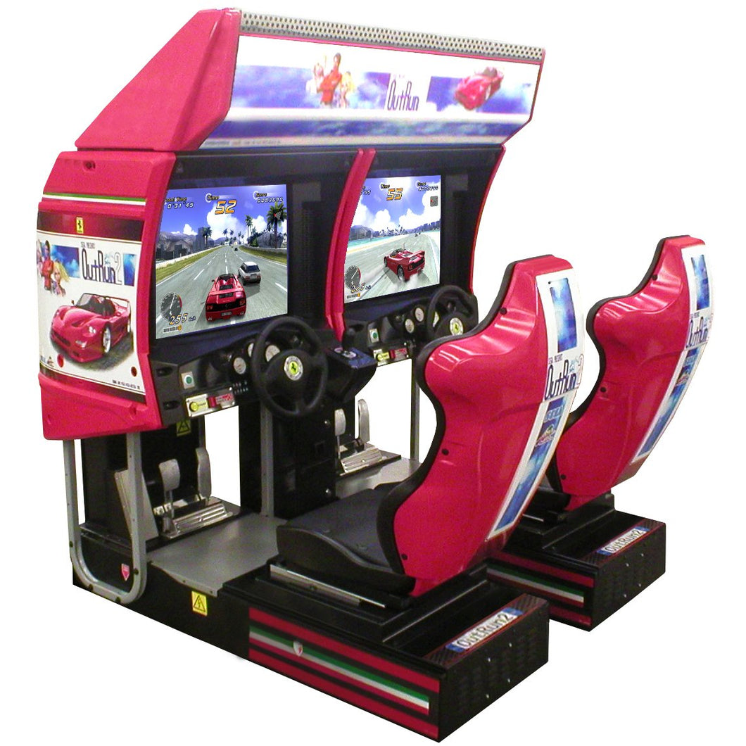 Outrun 2 SP Twin Driving Game - Reality Games Australia