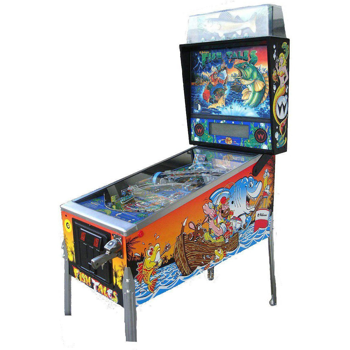 Fish Tales Pinball Machine | Reality Games Australia