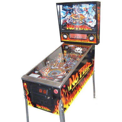 No Fear Pinball Machine - Reality Games Australia