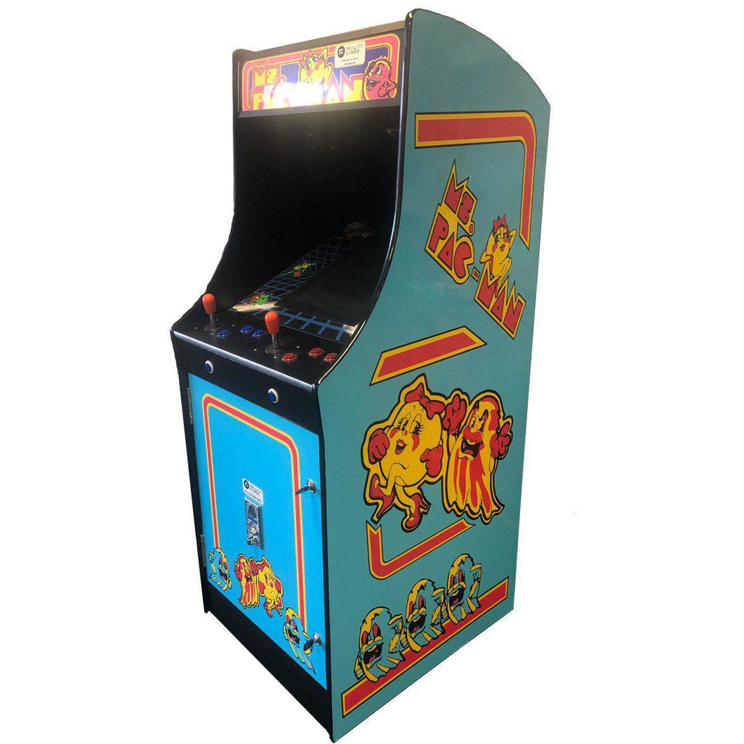 Ms. Pacman 60 in 1 Classic Arcade Machine - Reality Games Australia