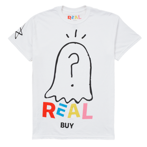 REAL BUY GHOST TEE - Real Buy