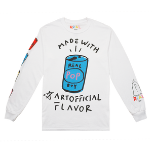 ARTOFFICIAL FLAVOR LONG SLEEVE - Real Buy