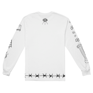 WOKE WHITE LONG SLEEVE - Real Buy