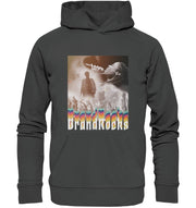 Vorderseite Prismatic Performance Hoodie in Anthracite