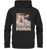 Vorderseite Prismatic Performance Hoodie in Schwarz