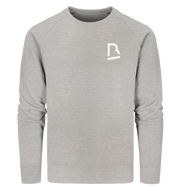 BrandRocks (white) - Organic Sweatshirt