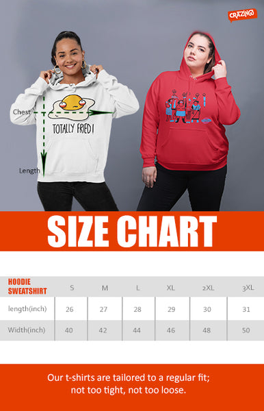 crazingo-unisex-hoodies-sweatshirts-size-guide