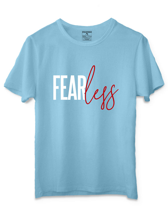 Fearless Sky Blue T-Shirt