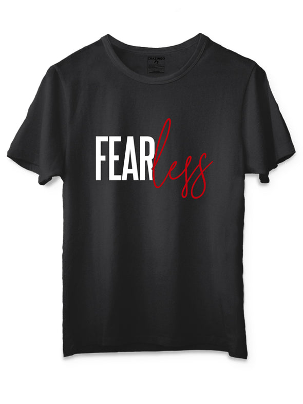Fearless Black T-Shirt