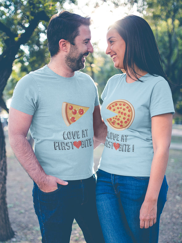 Love at first Bite Couple T-Shirt
