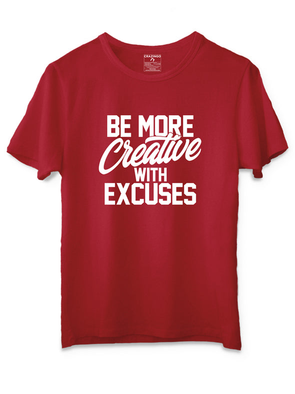 Creative Red T-Shirt