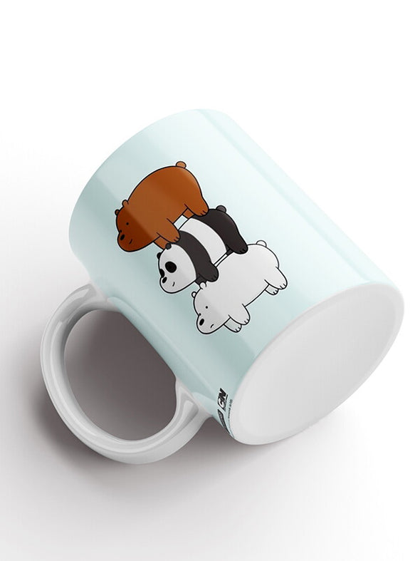 We Bare Bears All Three Official Printed Ceramic Coffee and Tea Mug 325 ml