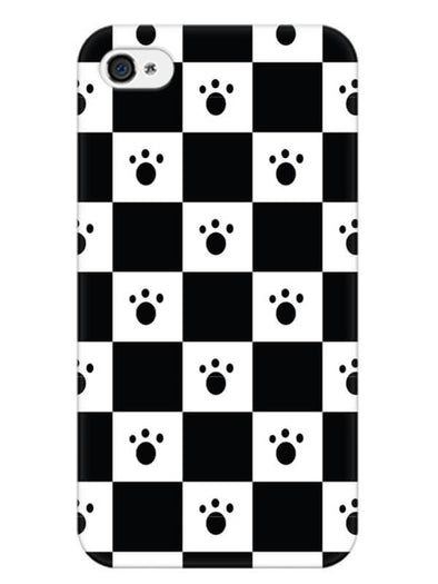 Paw Checkers Mobile Cover for iPhone 4s