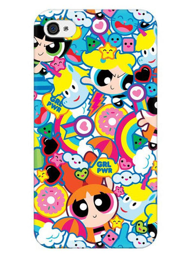 Girl Power Mobile Cover for iPhone 4s