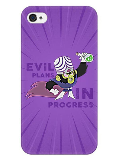Evil Plan Mojojojo Mobile Cover for iPhone 4s