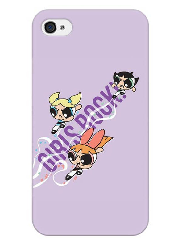 Girls Rocks Mobile Cover for iPhone 4s