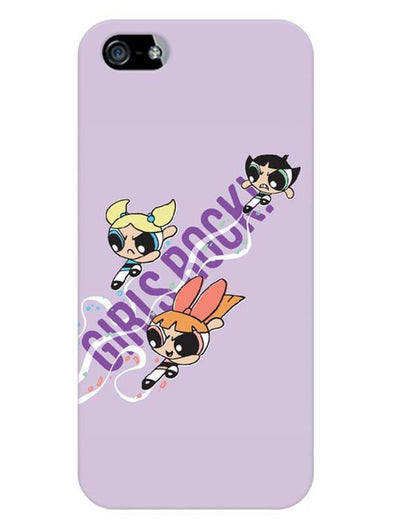 Girls Rocks Mobile Cover for iPhone 5