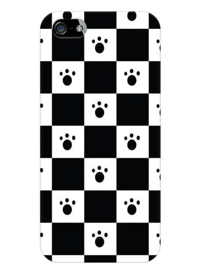 Paw Checkers Mobile Cover for iPhone 5s