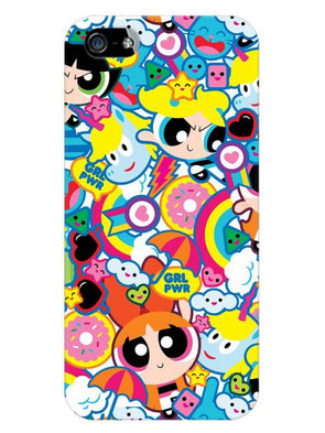 Girl Power Mobile Cover for iPhone 5s