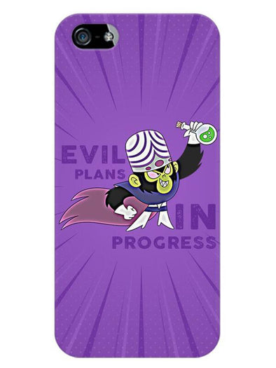 Evil Plan Mojojojo Mobile Cover for iPhone 5s