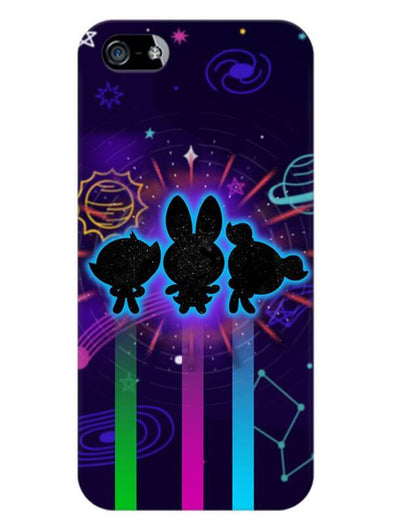 Glow Girls Mobile Cover for iPhone 5s