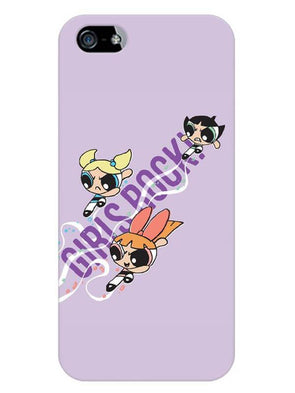 Girls Rocks Mobile Cover for iPhone 5s