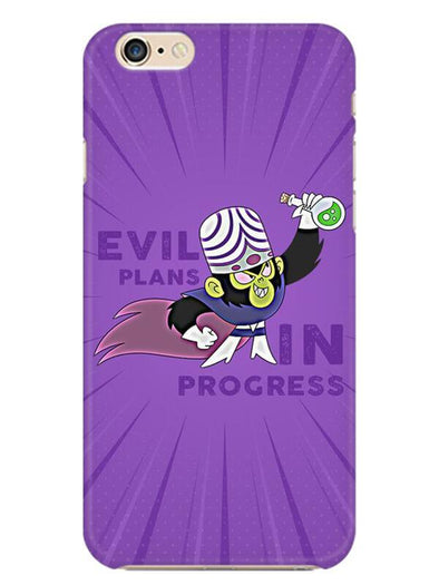 Evil Plan Mojojojo Mobile Cover for iphone-6s-plus
