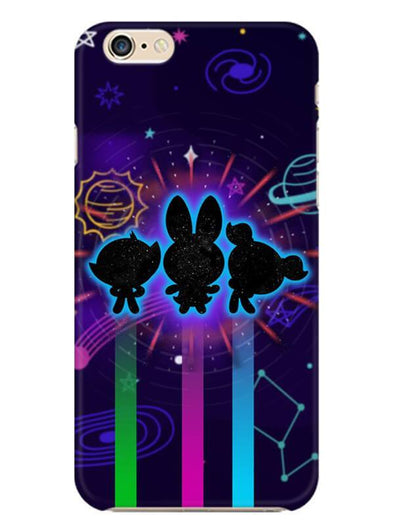 Glow Girls Mobile Cover for iphone-6s-plus