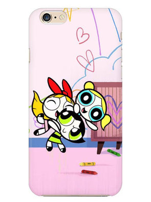 Powerpuff Girls Mobile Cover for iphone-6s-plus