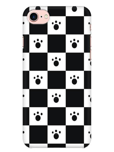 Paw Checkers Mobile Cover for iPhone 8