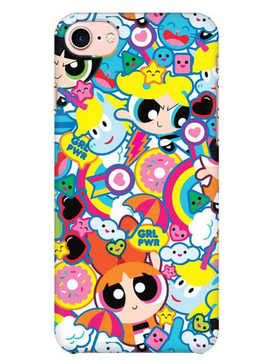 Girl Power Mobile Cover for iPhone 8