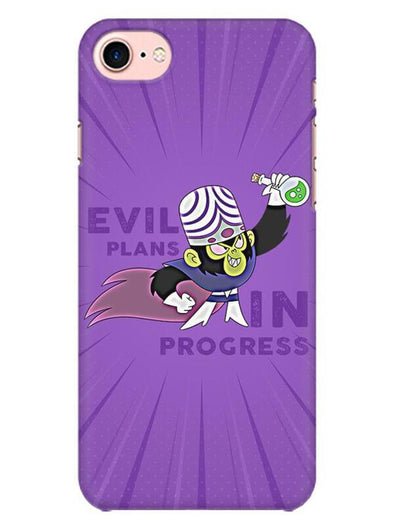 Evil Plan Mojojojo Mobile Cover for iPhone 8