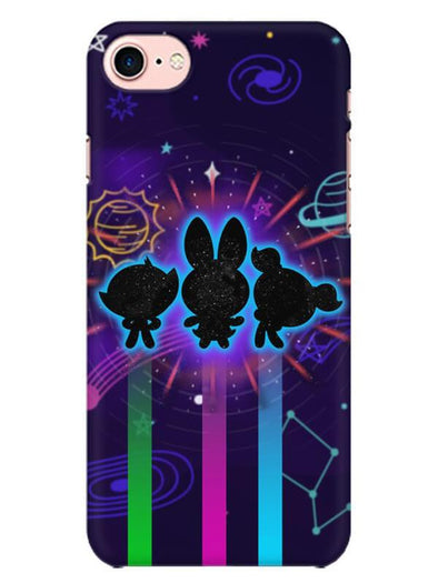 Glow Girls Mobile Cover for iPhone 8