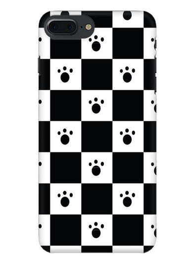 Paw Checkers Mobile Cover for iPhone 8 Plus