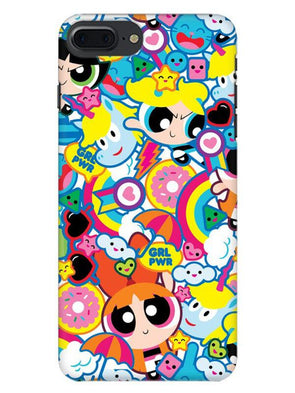 Girl Power Mobile Cover for iPhone 8 Plus