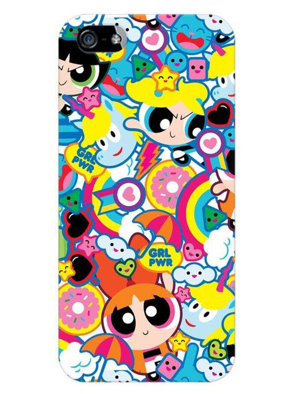 Girl Power Mobile Cover for iPhone SE