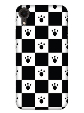 Paw Checkers Mobile Cover for iPhone XR
