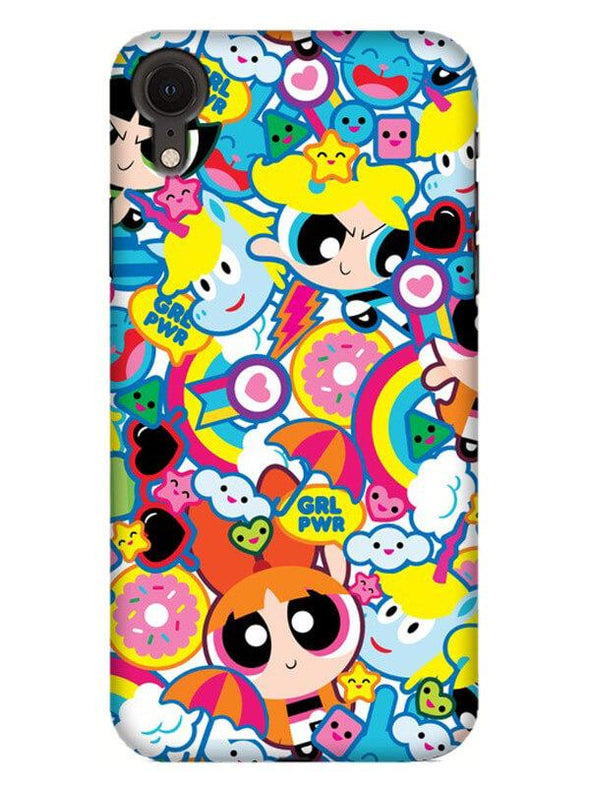 Girl Power Mobile Cover for iPhone XR