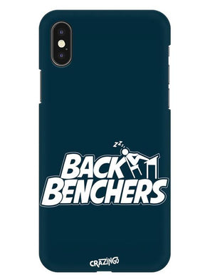 Back Benchers iPhone X Mobile Cover