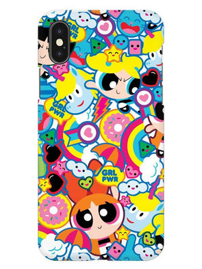 Girl Power Mobile Cover for iPhone XS
